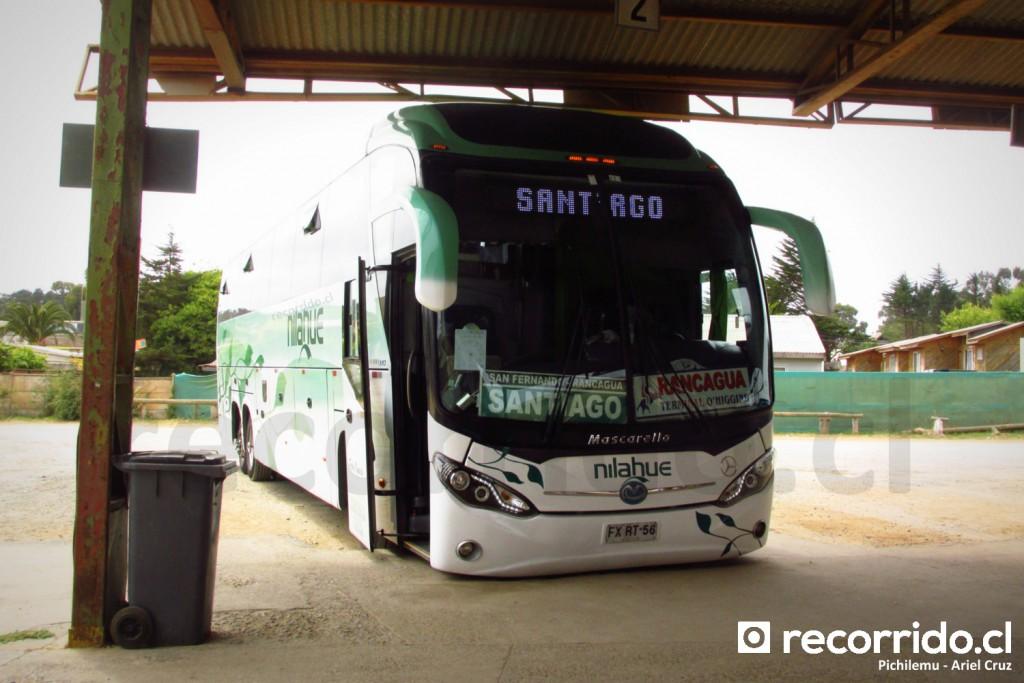 Buses Nilahue en Terminal de Pichilemu