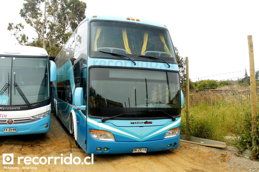Bus de dos pisos Transantin