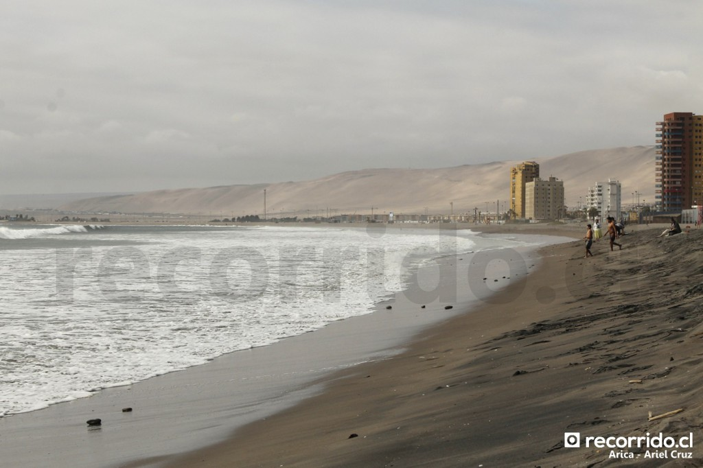 Playa Chinchorro de Arica