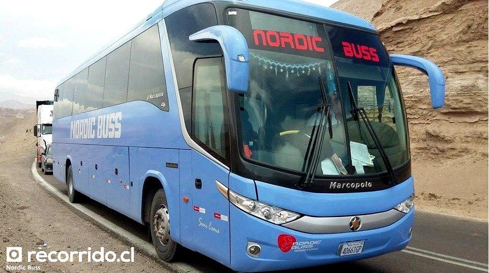 Bus Marcopolo Paradiso 1050 G7 en ruta
