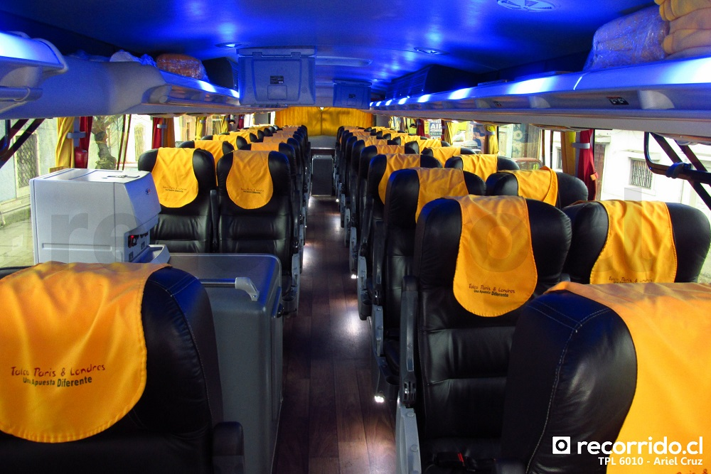 Interior 2° Piso - Bus 8x2 TPL