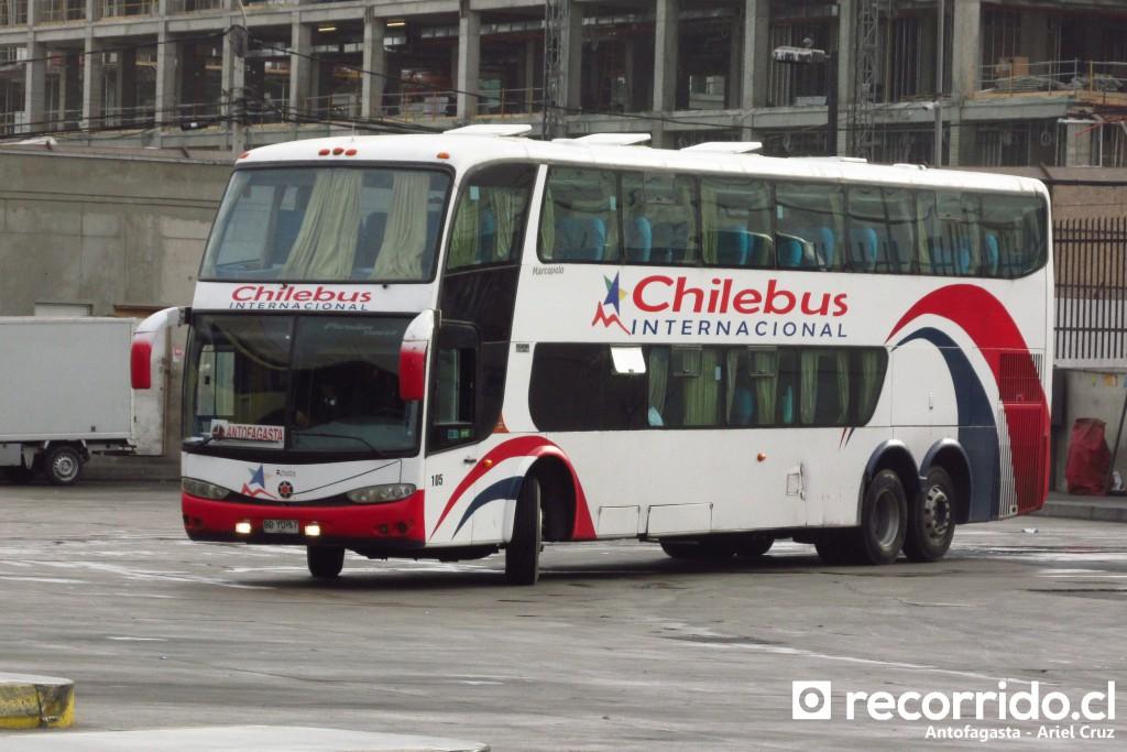 Bus Chilebus Internacional en Antofagasta