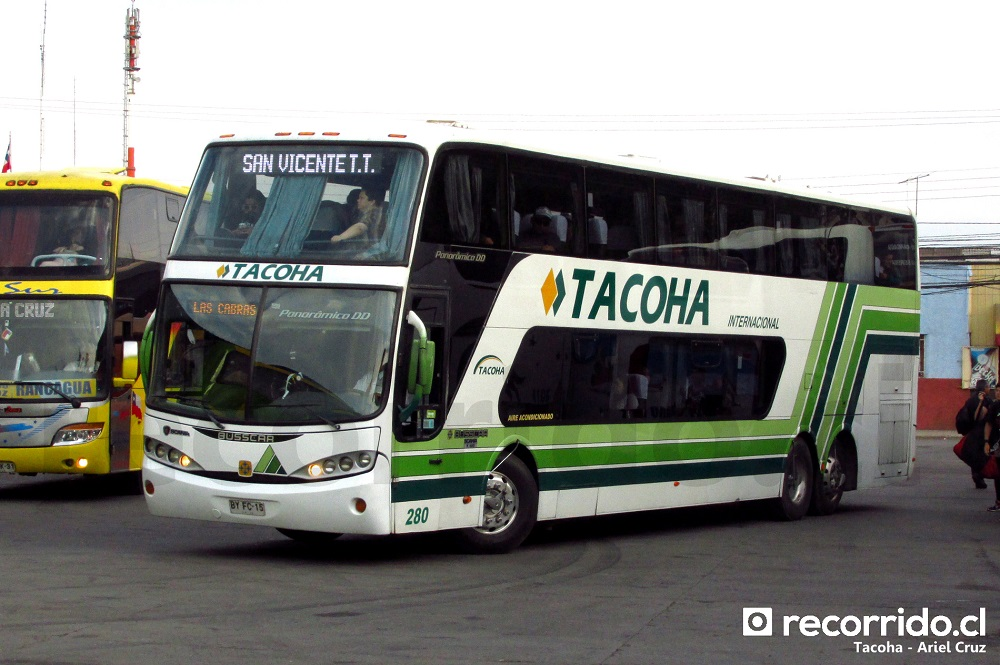 tacoha - panorâmico dd - terminal sur - 280 - byfc15