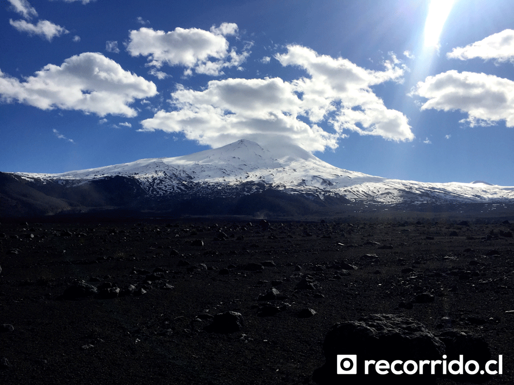 Campo volcánico Parque Conguillío