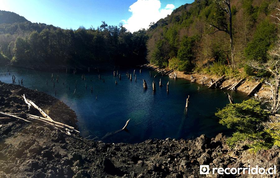 Laguna Arcoiris Parque Conguillío