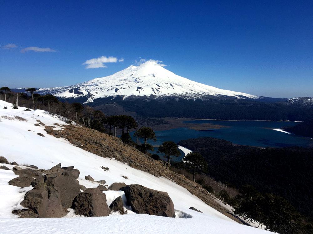 Volcan Llaima & Lago Conguillío, Parque Conguillío