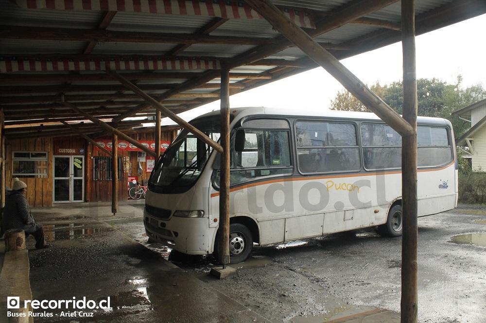 Buses rurales en Pucón