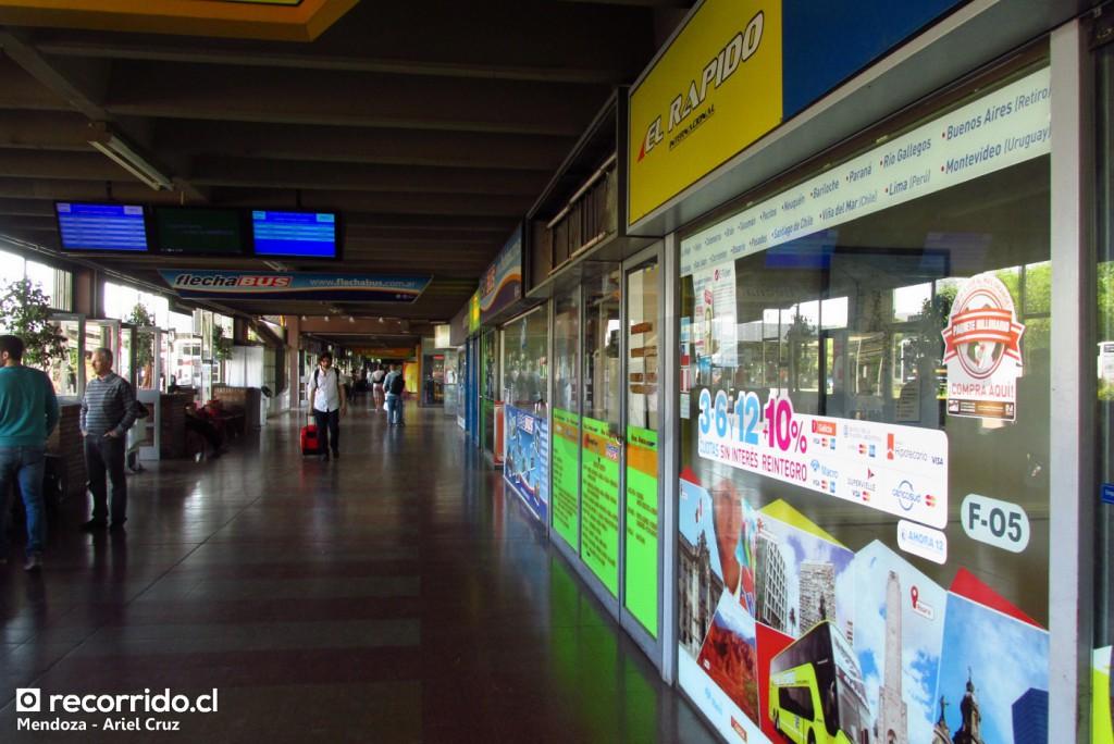 terminal mendoza - el rápido internacional - andesmar