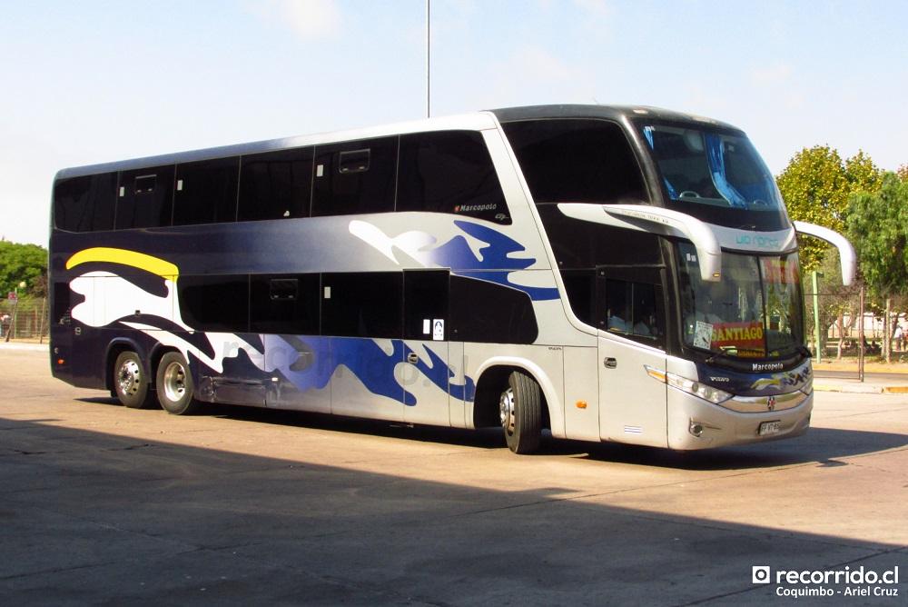 Bus Marcopolo DD de Paravías