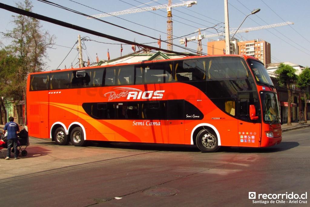 buses ríos - zeus - terminal sur - drtv89