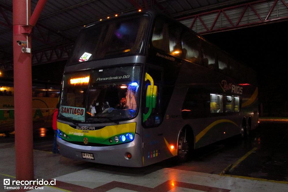 bwpv89 - buses ríos - panorâmico dd - temuco - línea azul