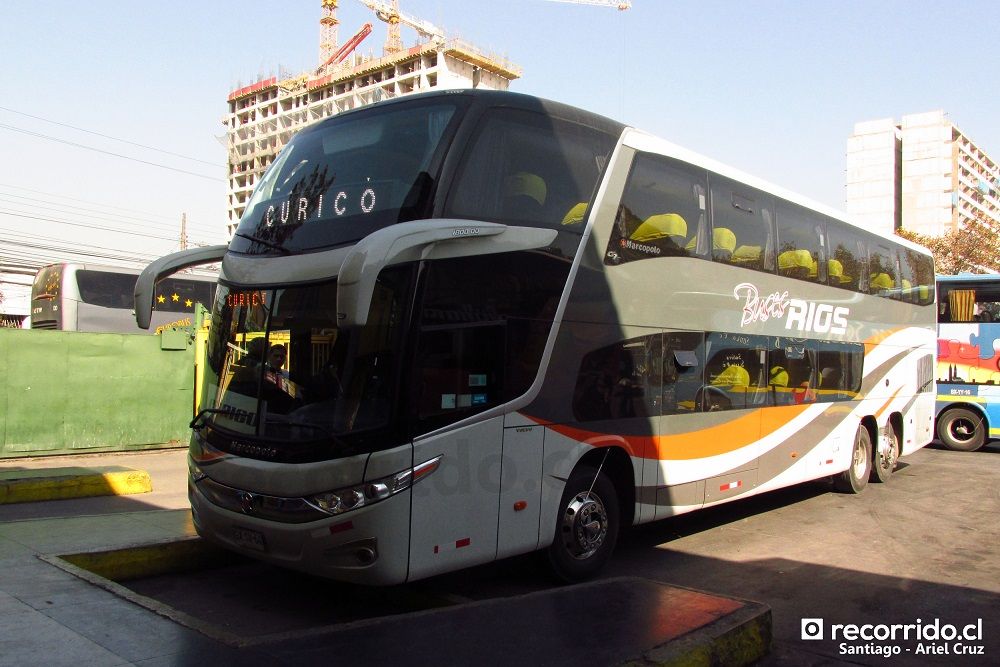 buses ríos internacional - paradiso 1800 dd g7 - terminal sur - gxsv64