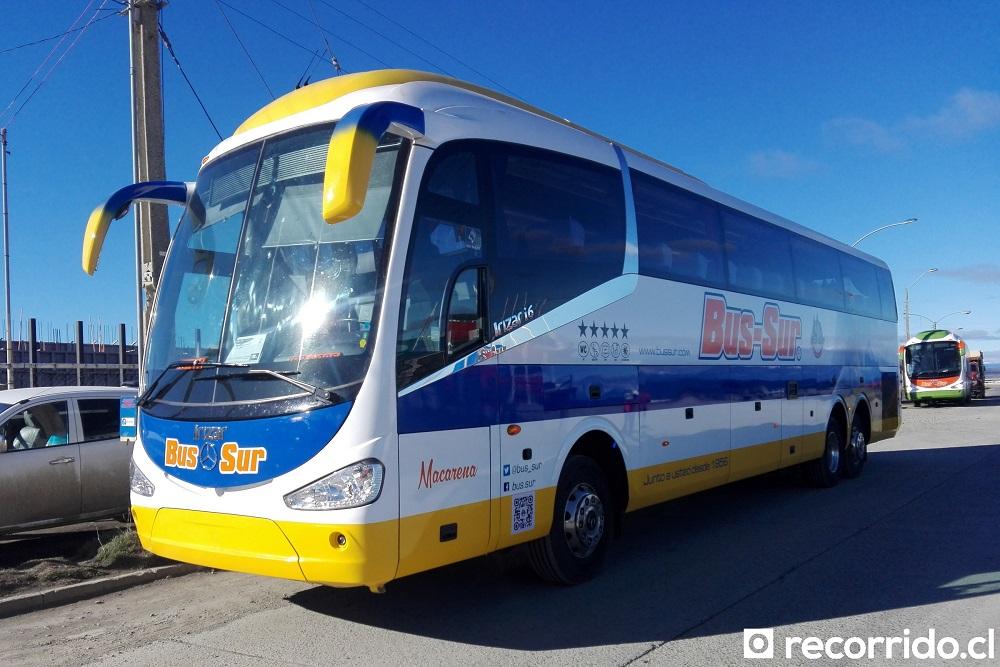 irizar i6 3.90 - mercedes benz - macarena - bus-sur - magallanes