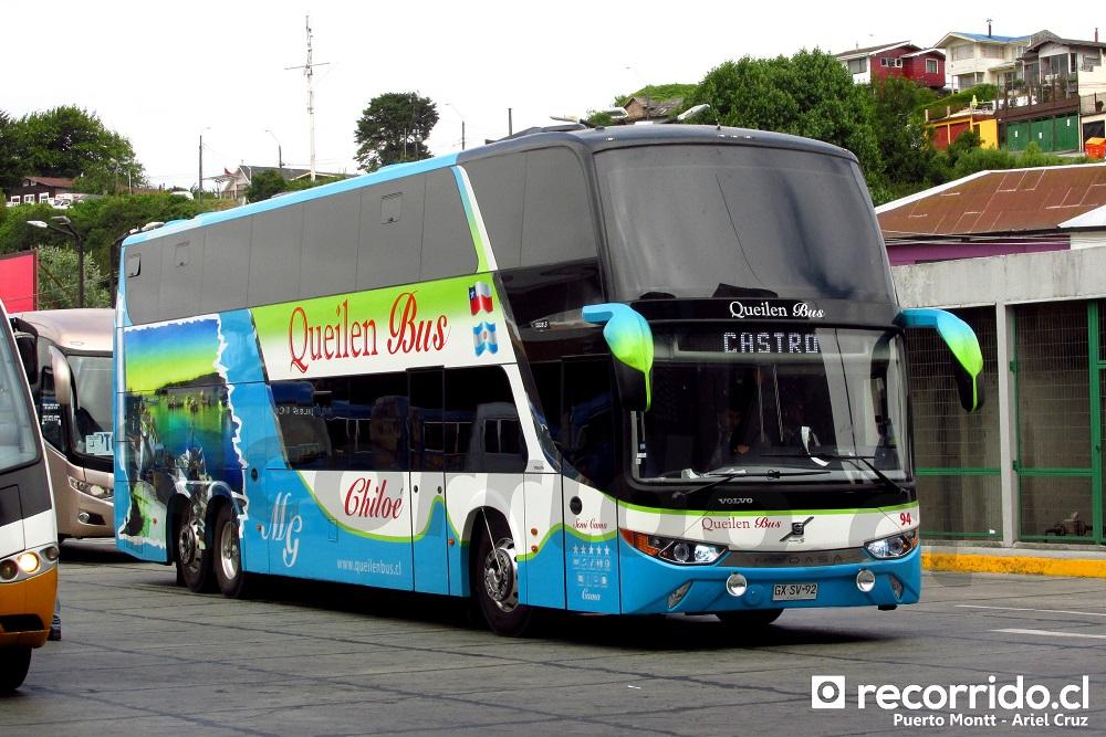 gxsv92 - zeus - queilen bus - puerto montt